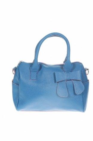 Дамска чанта, Цвят Син, Еко кожа, Цена 26,25лв.