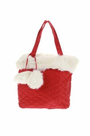 Дамска чанта, Цвят Червен, Текстил, Цена 13,13лв.