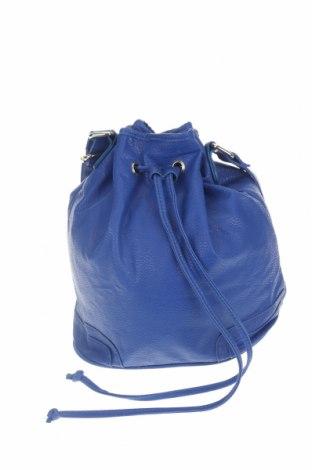 Дамска чанта Accessoires, Цвят Син, Еко кожа, Цена 16,54лв.