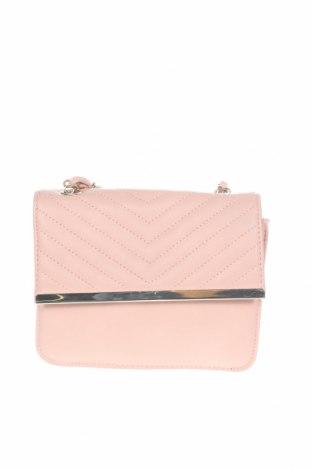 Дамска чанта Accessoires, Цвят Розов, Еко кожа, Цена 22,05лв.