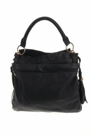 Дамска чанта Accessoires, Цвят Черен, Еко кожа, Цена 27,30лв.
