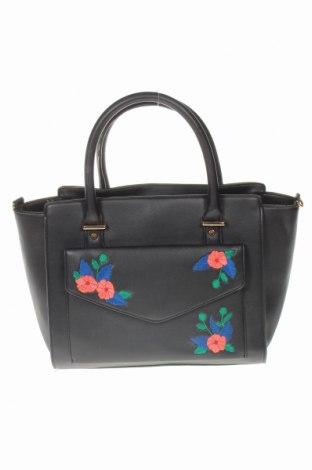 Дамска чанта Atmosphere, Цвят Черен, Еко кожа, Цена 29,40лв.