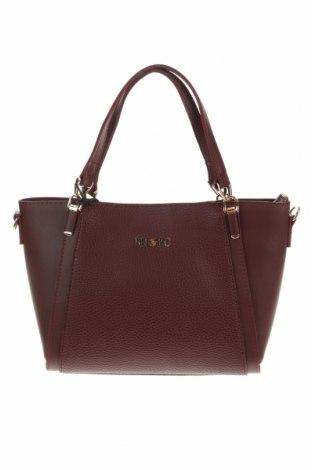 Дамска чанта Beverly Hills Polo Club, Цвят Червен, Еко кожа, Цена 53,72лв.