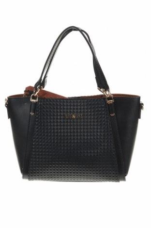 Дамска чанта Beverly Hills Polo Club, Цвят Черен, Еко кожа, Цена 43,45лв.