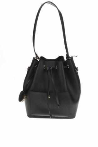 Дамска чанта Beverly Hills Polo Club, Цвят Черен, Еко кожа, Цена 44,25лв.