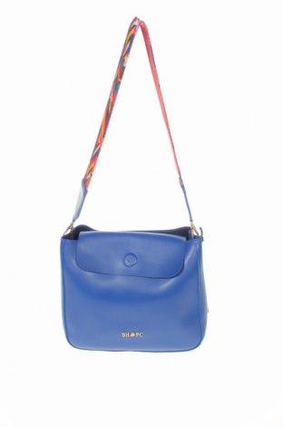 Дамска чанта Beverly Hills Polo Club, Цвят Син, Еко кожа, Цена 24,96лв.