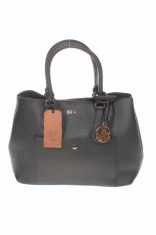 Дамска чанта Beverly Hills Polo Club, Цвят Черен, Еко кожа, Цена 57,42лв.