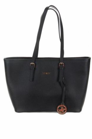 Дамска чанта Beverly Hills Polo Club, Цвят Черен, Еко кожа, Цена 66,75лв.