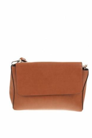 Дамска чанта Camaieu, Цвят Кафяв, Еко кожа, Цена 26,68лв.