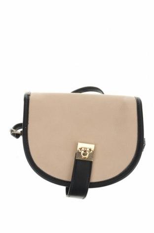 Дамска чанта Camaieu, Цвят Бежов, Еко кожа, Цена 18,06лв.