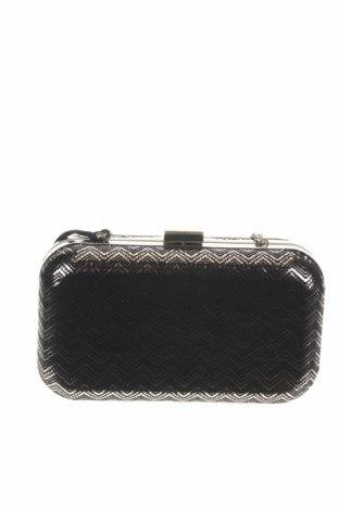 Дамска чанта Caroll, Цвят Сребрист, Текстил, Цена 27,37лв.