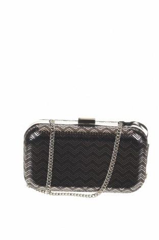 Дамска чанта Caroll, Цвят Сребрист, Текстил, Цена 41,65лв.
