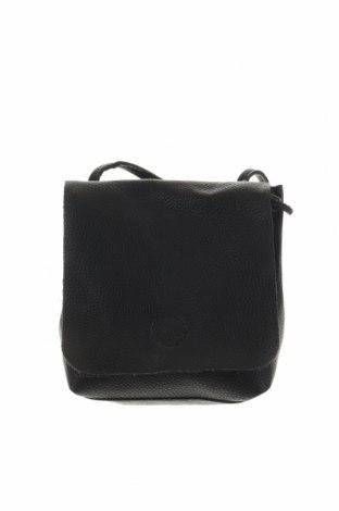 Дамска чанта Clockhouse, Цвят Черен, Еко кожа, Цена 20,58лв.