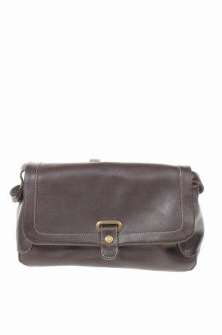 Дамска чанта Fossil, Цвят Кафяв, Естествена кожа, Цена 74,81лв.