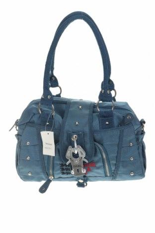 Дамска чанта George Gina & Lucy, Цвят Син, Текстил, Цена 48,88лв.