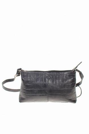 Дамска чанта Global, Цвят Черен, Естествена кожа, Цена 29,90лв.