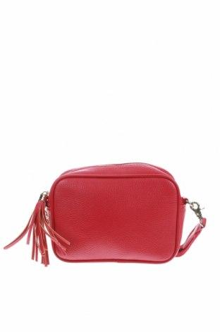 Γυναικεία τσάντα Hallhuber, Χρώμα Ρόζ , Δερματίνη, Τιμή 16,08€