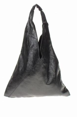 Γυναικεία τσάντα Isabella Rhea, Χρώμα Μαύρο, Γνήσιο δέρμα, Τιμή 123,32€
