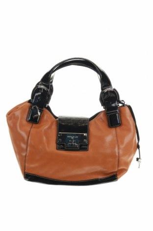 Дамска чанта Karen Millen, Цвят Кафяв, Естествена кожа, Цена 77,81лв.