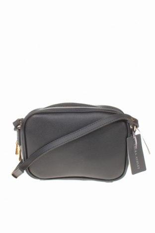 Дамска чанта Laura Ashley, Цвят Черен, Еко кожа, Цена 36,75лв.