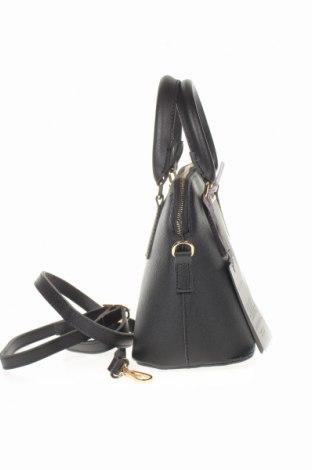 Дамска чанта Laura Ashley, Цвят Черен, Еко кожа, Цена 33,82лв.
