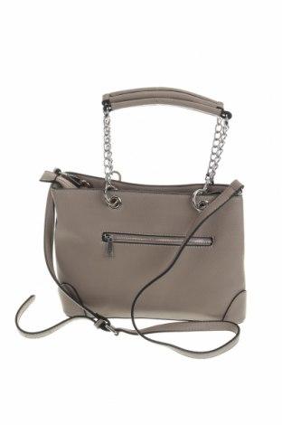 Дамска чанта Laura Scott, Цвят Сив, Еко кожа, Цена 29,67лв.