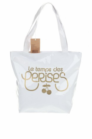 Дамска чанта Le Temps Des Cerises, Цвят Бял, Еко кожа, Цена 33,12лв.