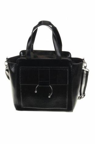Дамска чанта Lft, Цвят Черен, Еко кожа, Цена 16,72лв.