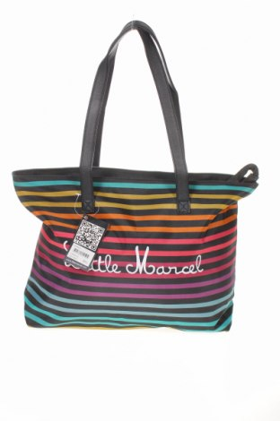 Дамска чанта Little Marcel, Цвят Многоцветен, Текстил, Цена 51,75лв.