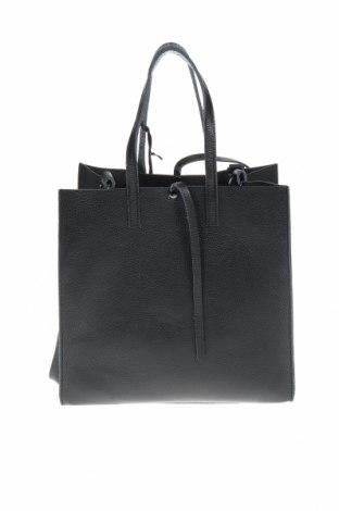 Дамска чанта Mangotti, Цвят Черен, Естествена кожа, Цена 147,60лв.