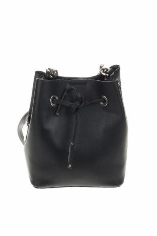 Дамска чанта Minelli, Цвят Черен, Еко кожа, Цена 36,75лв.