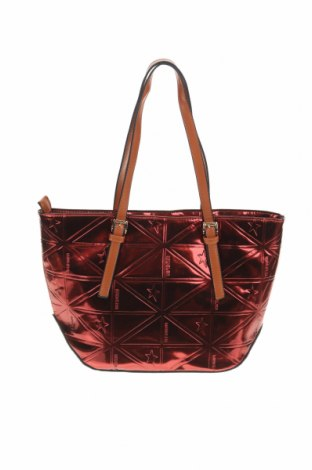 Дамска чанта Mugler, Цвят Червен, Еко кожа, Цена 62,70лв.