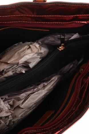 Дамска чанта Mugler, Цвят Червен, Еко кожа, Цена 79,42лв.