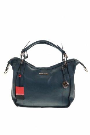 Дамска чанта Pierre Cardin, Цвят Син, Еко кожа, Цена 81,27лв.