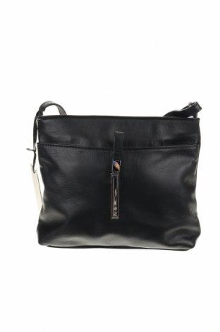 Дамска чанта Roberta M., Цвят Черен, Естествена кожа, Цена 94,15лв.
