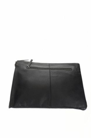 Дамска чанта Timberland, Цвят Черен, Естествена кожа, Цена 147,60лв.