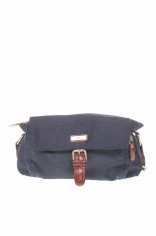 Дамска чанта Tom Tailor, Цвят Син, Текстил, Цена 39,90лв.