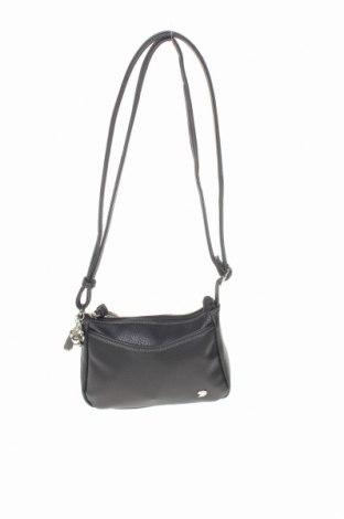 Дамска чанта Tom Tailor, Цвят Черен, Еко кожа, Цена 36,91лв.
