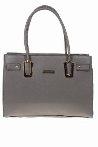 Дамска чанта Torrente, Цвят Сив, Еко кожа, Цена 62,37лв.