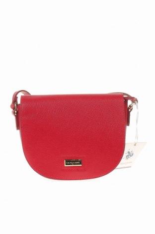 Дамска чанта U.S. Polo Assn., Цвят Червен, Еко кожа, Цена 96,75лв.