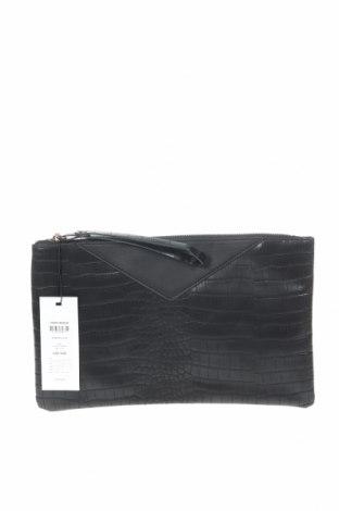 Дамска чанта Vero Moda, Цвят Черен, Еко кожа, Цена 17,55лв.