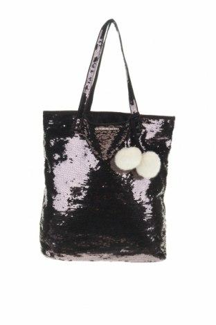 Дамска чанта Victoria's Secret, Цвят Черен, Текстил, Цена 39,90лв.