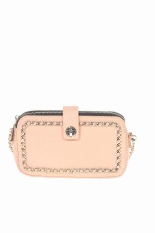 Дамска чанта Zara, Цвят Розов, Еко кожа, Цена 16,54лв.