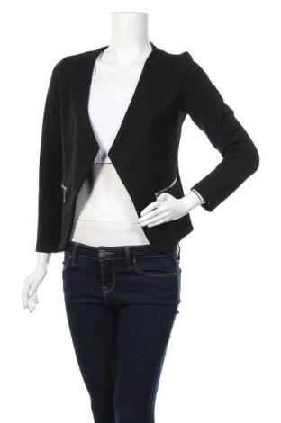 Дамска жилетка, Размер S, Цвят Черен, 100% полиестер, Цена 6,24лв.