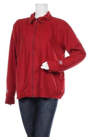 Дамска жилетка, Размер XL, Цвят Червен, Полиестер, Цена 6,30лв.