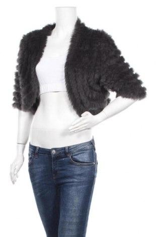 Γυναικεία ζακέτα Furst, Μέγεθος XXL, Χρώμα Γκρί, Ακρυλικό, φυσική τρίχα, Τιμή 21,30€