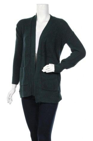 Γυναικεία ζακέτα Bonita, Μέγεθος S, Χρώμα Πράσινο, 50% βαμβάκι, 50% πολυακρυλικό, Τιμή 16,05€