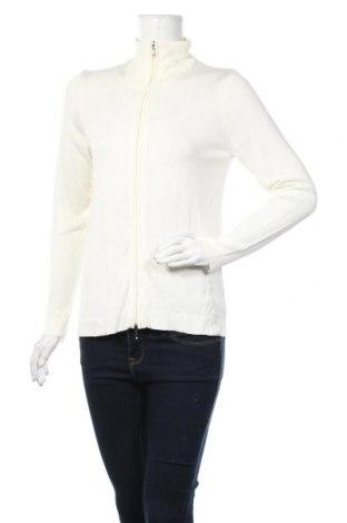 Γυναικεία ζακέτα Giada, Μέγεθος S, Χρώμα Λευκό, Βισκόζη, Τιμή 5,91€