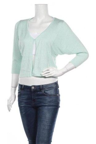 Γυναικεία ζακέτα Guido Maria Kretschmer, Μέγεθος XXS, Χρώμα Πράσινο, 43% βαμβάκι, 40% βισκόζη, 10% πολυαμίδη, 7% κασμίρι, Τιμή 14,11€