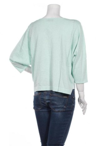 Дамска жилетка Guido Maria Kretschmer, Размер XL, Цвят Зелен, 43% памук, 40% вискоза, 10% полиамид, 7% метални нишки, Цена 23,80лв.